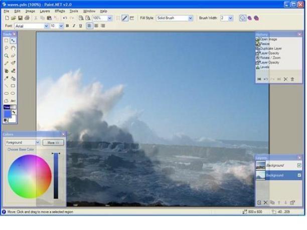 Download Paintnet Free Software For Digital Photo Editing Tattoo Design Bild